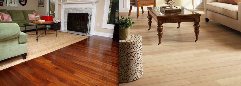 ease and durability of laminate and the style of traditional hardwood, slate, stone or ceramic